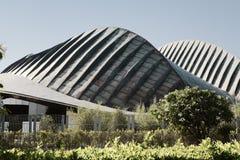 Der UAE-Pavillon außerhalb Abu Dhabis Manarat Al Saadiyat, Abu Dhabi Stockbilder