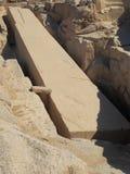 Der unfertige Obelisk stockfoto