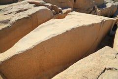 Der unfertige Obelisk stockfotos