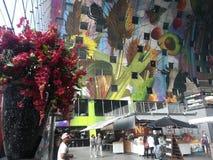 Der ungewöhnlichste Markt und das Gebäude in Rotterdam stockfotos