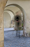 Der unsichtbare Priester Stockfotos