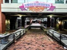 Der Untergrund in Atlanta, GA stockbilder