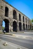 Der Valens-Aquädukt stockfotos