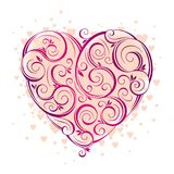 Der Valentinsgrußtag stock abbildung