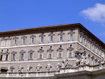 Der Vatican (Basilika Str.-Peters) - Rom Stockbild