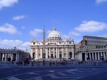 Der Vatican - das Rom (Heiligespeters Basilika) Stockbild