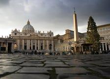 Der Vatican gleich nach einem Sturm lizenzfreies stockfoto