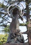 DER VATIKAN 20. SEPTEMBER: Bildhauerische Gruppen in den Gärten von Vatikan am 20. September 2010 in Vatikan, Rom, Italien Lizenzfreies Stockfoto
