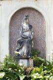 DER VATIKAN 20. SEPTEMBER: Loggiakasino Pius IV. an den Vatikan-Gärten am 20. September 2010 in Vatikan, Rom, Italien Lizenzfreies Stockfoto