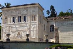 DER VATIKAN 20. SEPTEMBER: Loggiakasino Pius IV. an den Vatikan-Gärten am 20. September 2010 in Vatikan, Rom, Italien Stockfotografie