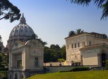 DER VATIKAN 20. SEPTEMBER: Loggiakasino Pius IV. an den Vatikan-Gärten am 20. September 2010 in Vatikan, Rom, Italien Lizenzfreie Stockbilder
