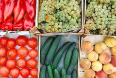 Der Vegetarier, Lebensmittel des strengen Vegetariers Lizenzfreie Stockfotos