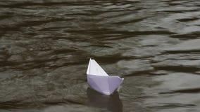Der vektorentwurf des Herstellungspapierplans - origami stock footage