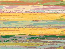 Der Vektorhintergrund gezeichnet mit einer Bürste stock abbildung