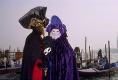 Der Venedig-Karneval Lizenzfreies Stockbild
