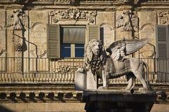 Der Venedig-Löwe Stockfotos