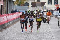 Der 31. Venedig-Marathon Stockfoto