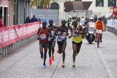 Der 31. Venedig-Marathon Stockfotografie