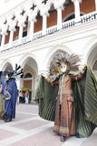 Der venetianische Carnevale 2013 Lizenzfreie Stockfotos