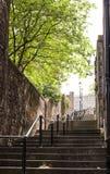 Der Vennel-Durchgang in Edinburgh, Schottland Lizenzfreie Stockfotos