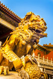 In der Verbotenen Stadt in Peking China stockfotos