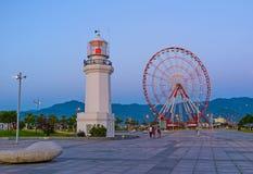 Der Vergnügungspark in Batumi Stockfotos