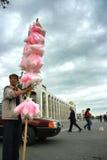 Der Verkäufer der Bonbons in Kirgistan Lizenzfreies Stockfoto