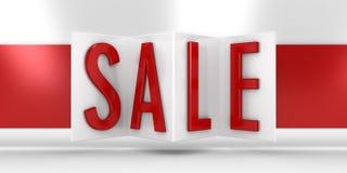 Der Verkauf Lizenzfreie Stockfotos