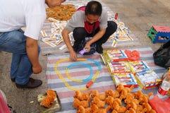 Der Verkauf der Spielwaren der Kinder Lizenzfreies Stockfoto