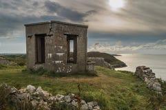 Der verlassene Ausblickturm errichtet für die Krönung von König Edward VII stockbilder