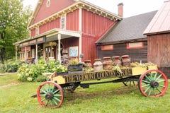 Der Vermont-Gemischtwarenladen stockfotos