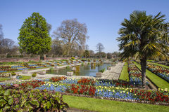 Der versunkene Garten an Kensington-Palast in London Lizenzfreie Stockbilder