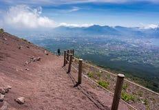 Der Vesuv stockbild