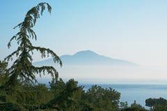 Der Vesuv, Italien Stockfotografie
