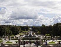 Der Vigeland-Park stockbild