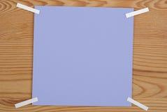 Der violette quadratische freie Raum Lizenzfreie Stockfotos