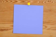 Der violette quadratische freie Raum Lizenzfreies Stockbild