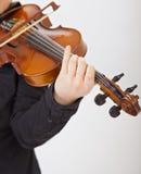 Der Violinist Stockbild