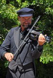 Der Violinist, Weltbuskers-Festival Lizenzfreie Stockbilder