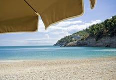 Der vollkommene Strand Stockbilder