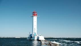 Der Vorontsov-Leuchtturm, durchbohren und lizenzfreies stockfoto