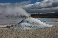 Der Vulkan in Island Stockbild