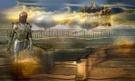 Der Wächter des himmlischen Palastes Stockfotos