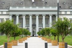 Der Wahlpalast in Koblenz Stockbilder