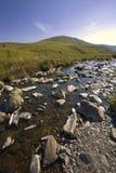 Der walisische Bereich des Elantales Gebirgshervorragenden natürlichen b Stockfotografie