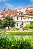 Der Wallenstein Garten in Prag Lizenzfreies Stockbild