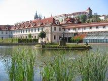 Der Wallenstein Garten. Prag. Stockbilder