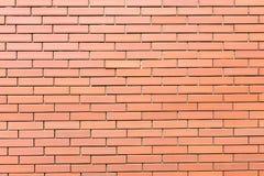Der Wand-Beschaffenheitshintergrund des roten Backsteins Stockbilder