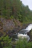 Der Wasserfall lizenzfreie stockbilder