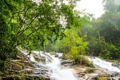 Der Wasserfall Stockbild